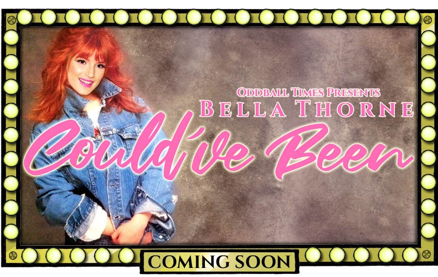 A movie poster for a Tiffany Darwish biopic starring Bella Thorne by Oddball Times