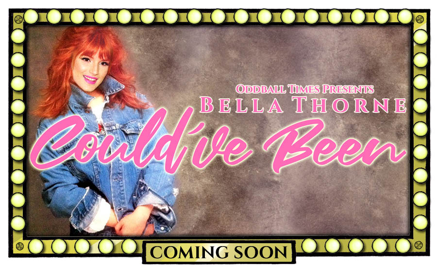 A movie poster for a Tiffany Darwish biopic starring Bella Thorne by Oddball Times