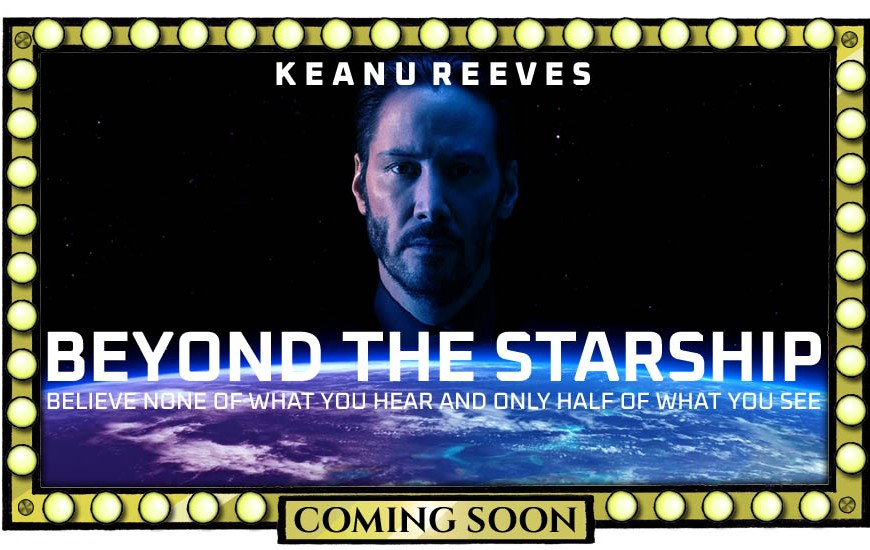 A movie poster for a Richplanet thriller starring Keanu Reeves by Oddball Times
