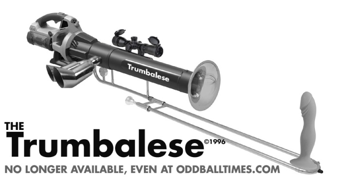 An ad for The Trumbalese or Trombolyse